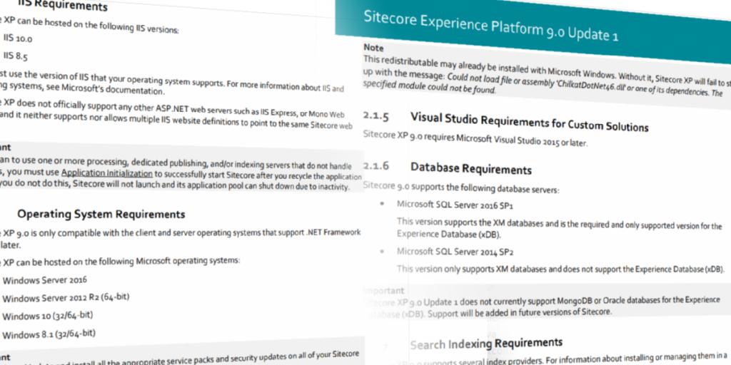 Installing Sitecore 9: Prerequisites